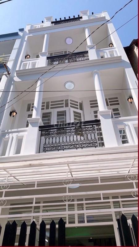 Nhà nguyên căn 125m2, 5PN cần cho thuê hẻm xe tải đường Bùi Đình Túy, Bình Thạnh,, 125m2, 5 phòng ngủ, 5 toilet