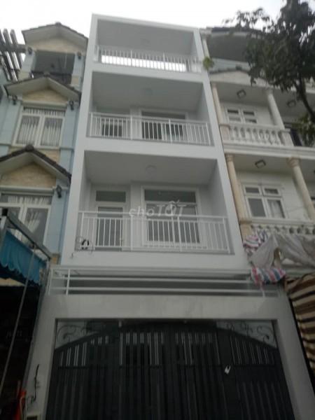 Nhà mới tại Phan Văn Trị P.11 Bình Thạnh. 1 trệt, 3 lầu, 5 phòng, Nhà mới vào ở ngay, giá ưu đãi mùa dịch, 80m2, 5 phòng ngủ, 5 toilet