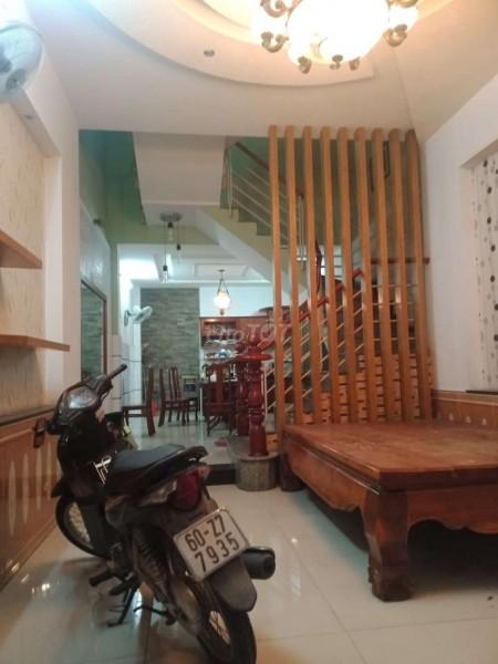 Cho thuê nhà quận Gò Vấp, 64m2, 1 trệt 2 lầu, nhà mới, sạch sẽ, đầy đủ nội thất, 64m2, 4 phòng ngủ, 5 toilet