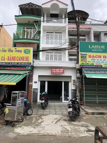 Nhà hẻm 141 Dương Quảng Hàm, Gò Vấp cần cho thuê nguyên căn rộng 96m2, 4 PN, 96m2, 6 phòng ngủ, 5 toilet
