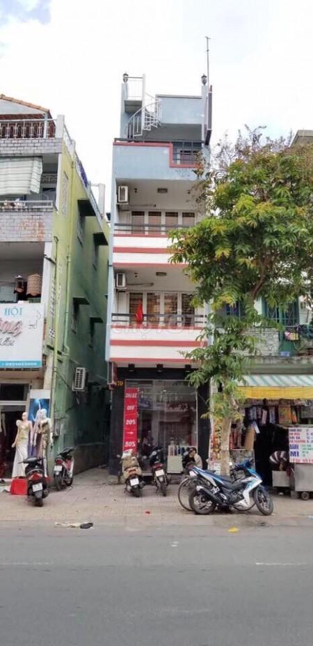 Cho thuê nhà nguyên căn mới góc 2 mặt tiền Nguyễn Đình Chiểu. Dtsd 120m2, 40m2, 3 phòng ngủ, 3 toilet