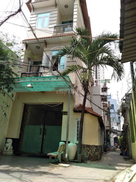 Nhà nguyên căn cho thuê, 4m x 12m, 3 tầng 1 sân thượng, 16 triệu đồng một tháng, 46m2, 2 phòng ngủ, 3 toilet