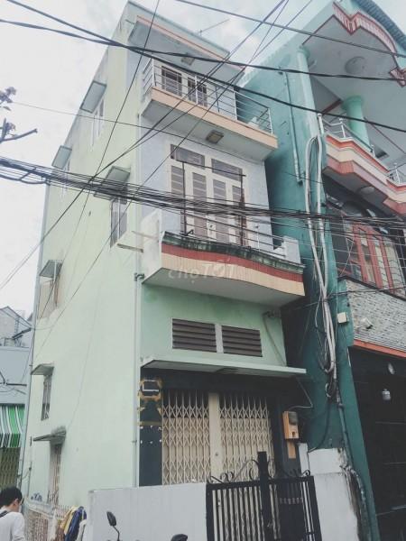 Nhà đẹp 1 trệt,2 lầu cho thuê 7,2 triệu/tháng tại Đường Văn Thân, Phường 8, Quận 6, 24m2, 2 phòng ngủ, 2 toilet