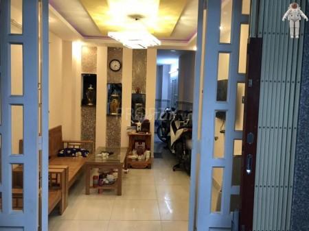 Hẻm an ninh 1 xẹt đường Tôn Đản, Quận 4 có căn hộ rộng 75m2, cần cho thuê giá 11.5 triệu/tháng, 75m2, 2 phòng ngủ, 2 toilet