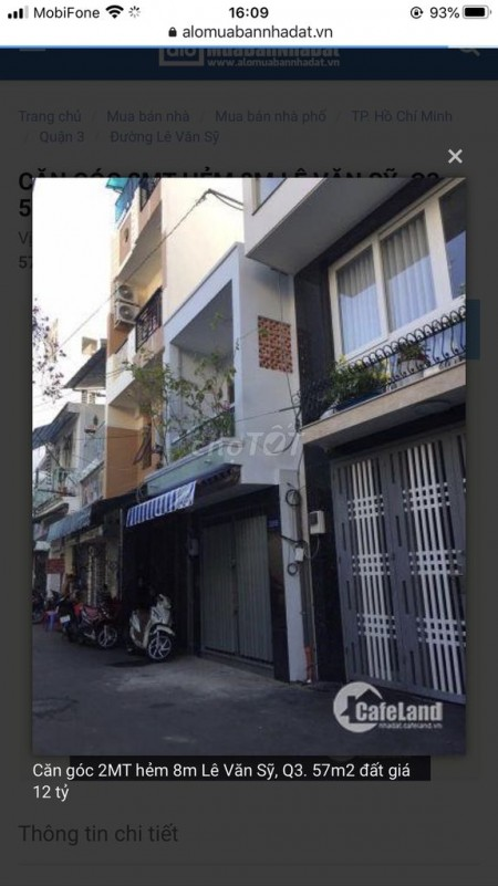 Cho thuê nhà nguyên căn 2 tầng tại Nguyễn Đình Chiểu Quận 3, 3.2m x 10m, giá thuê chỉ 9 triệu, 32m2, 2 phòng ngủ, 1 toilet