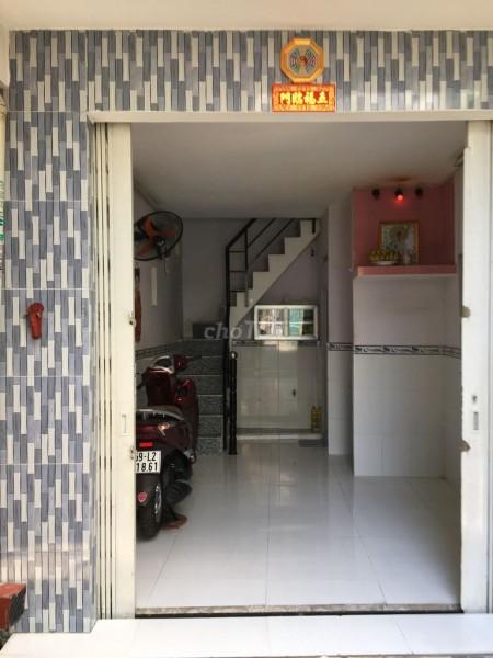 Cho thuê nhà ở nguyên căn riêng biệt 1 trệt 1 lầu tại Tùng Thiện Vương Quận 8, 15m2, 1 phòng ngủ, 1 toilet
