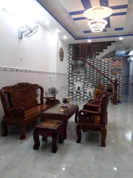 Nhà nguyên căn cho thuê tại đường Liên Tỉnh 5, 1 trệt 1 lầu, dt 4m x 16m, 47m2, 3 phòng ngủ, 3 toilet