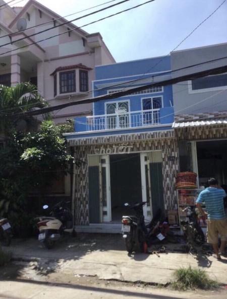 Nhà riêng cho thuê 1 trệt 1 lầu đúc kiên cố tại mặt tiền đường Bình Đức, Phường 15, Quận 8, 44m2, 2 phòng ngủ, 2 toilet