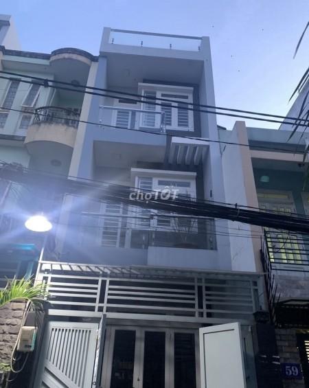 Cho thuê nhà nguyên căn 4 tầng, 4 phòng ngủ, 4 wc, giá thuê 15 triệu/tháng tại Lê Văn Sỹ, Quận 3, 64m2, 4 phòng ngủ, 4 toilet