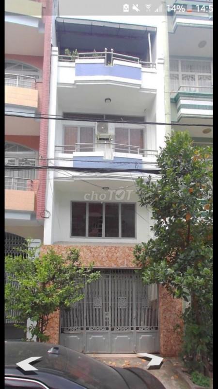 Cho thuê nhà mặt tiền đường Bình Phú 1: Rộng 4m dài 11m, 1 trệt 2 lầu và 1 sân thượng, 56m2, 3 phòng ngủ, 4 toilet