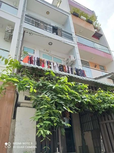 Cho thuê nhà nguyên căn gần cầu Chánh Hưng, 1 trệt 2 lầu, 4 phòng, giá thuê 10 triệu/tháng, 40m2, 4 phòng ngủ, 3 toilet