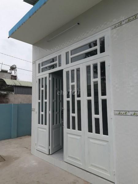 Cần cho thuê nhà nguyên căn mặt tiền có thể sử dụng kinh doanh, có sân trước rộng rãi, nhà mới, 25m2, 2 phòng ngủ, 1 toilet