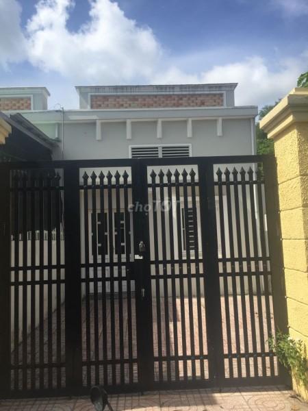Cần cho thuê nhà nguyên căn 100m2 tại Đường Số 65, Tân Phú Trung, Huyện Củ Chi gần Bệnh Viên Xuyên A, 100m2, 2 phòng ngủ, 2 toilet
