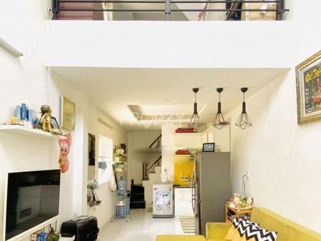 Nhà cho thuê nguyên căn mới tinh, 1 trệt 1 lững 1 lầu tại Lê Văn Lương xã Nhơn Đức huyện Nhà Bè, 42m2, 3 phòng ngủ, 2 toilet