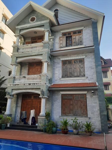 Villa Thảo Điền 850m2, trệt 2 lầu 5 phòng siêu rộng có sân vườn hồ bơi, 850m2, 5 phòng ngủ, 5 toilet