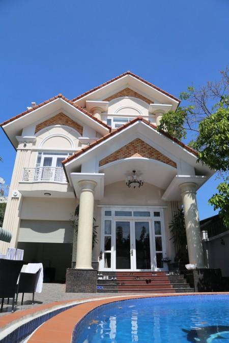 Cho thuê villa Thảo Điền 500m2, 1 trệt 1 lầu 5PN full nội thất có sân vườn hồ bơi, 500m2, 5 phòng ngủ, 5 toilet