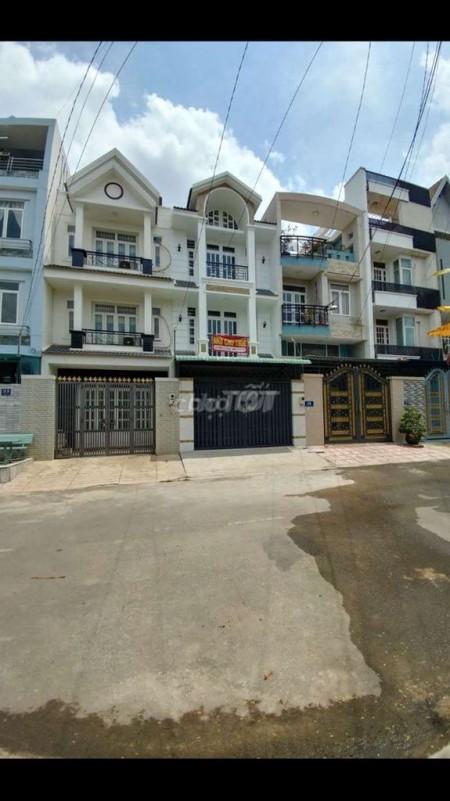 Cho thuê nhà nguyên căn mới tinh, 1 trệt 2 lầu tại phường Bình Chiểu Quận Thủ Đức, 105m2, 4 phòng ngủ, 5 toilet