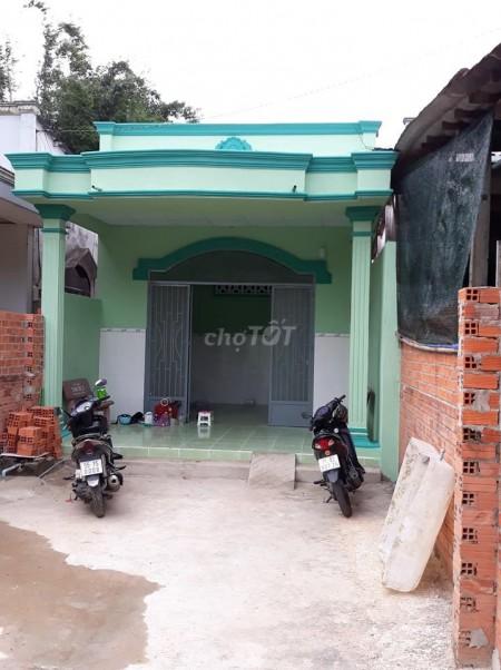Cho thuê nhà cấp 4 mới xây xong 1 phòng ngủ, Mặt tiền đường Phú Mỹ huyện Củ Chi, 350m2, 1 phòng ngủ, 1 toilet