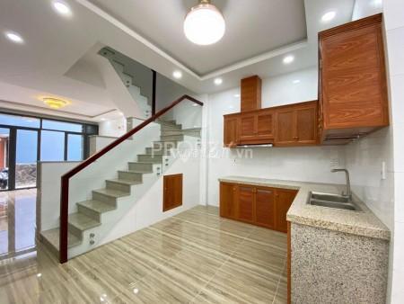 Cho thuê nhà 1 trệt 1 lầu và 1 sân thượng, dtsd 158m2/tháng, giá thuê 12 triệu/tháng, 56m2, 2 phòng ngủ, 3 toilet