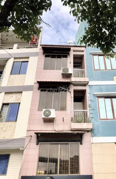 Cho thuê nhà nguyên căn 1 trệt 3 lầu tại mặt tiền Võ Văn Kiệt, P5, Q5, 86.4m2, 2 phòng ngủ, 3 toilet