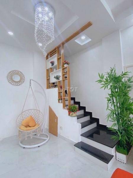 Nhà nguyên căn mới tinh nằm trong khu dân cư Sài Gòn mới tại Thị Trấn Nhà Bè, 50m2, 2 phòng ngủ, 2 toilet