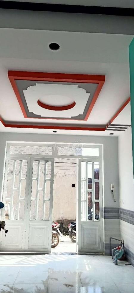 Nhà nguyên căn Vĩnh Lộc B, Bình Chánh, 1 trệt 1 lầu mới tinh dọn vào ở ngay, 40m2, 2 phòng ngủ, 2 toilet