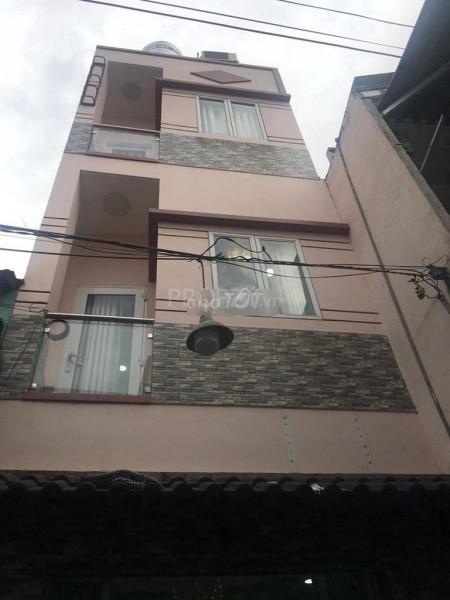Cho thuê nhà nguyên căn Quận 4 Tôn Đản, 10 triệu/tháng, Dtsd 90m2 ( 3m x 10m ), 30m2, 4 phòng ngủ, 3 toilet