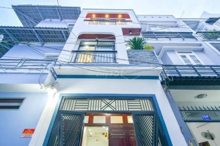 Cần cho thuê nhà mặt tiền Tân Vĩnh, Quận 4. Dt 105m2 ( rộng 7m x 15m ), 12 triệu/tháng, 105m2, 5 phòng ngủ, 3 toilet