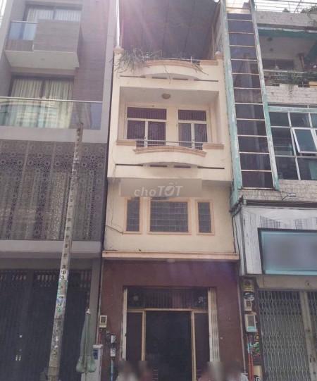 Cho thuê nhà nguyên căn 1 trệt 1 lững 1 lầu mặt tiền đường Ký Hòa, Quận 5, 47m2, 4 phòng ngủ, 4 toilet