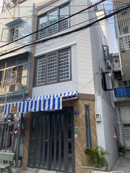 Nhà nguyên căn đúc 2 tầng kiên cố tại hẻm Lạc Long Quận, P10, Tân Bình, 22m2, 2 phòng ngủ, 2 toilet