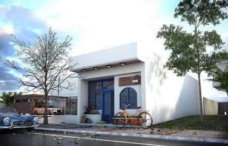 RG-KG cho thuê nhà mặt tiền nguyên căn, 5m2, 2 phòng ngủ, 3 toilet