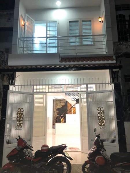 Nhà nguyên căn cần cho thuê nhà mới, 1 trệt 1 lầu gần Aeon Mall Tân Phú, 55m2, 2 phòng ngủ, 2 toilet