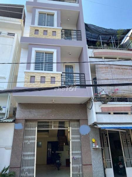 Cho thuê nhà nguyên căn hẻm 1 xẹc xe tải lưu thông thoải mái, nhà 3 lầu tại Nguyễn Văn Luông Quận 6, 60m2, 5 phòng ngủ, 6 toilet