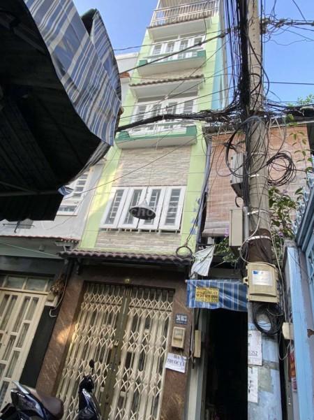 Cần cho thuê căn nhà tại Tôn Đản Quận 4, 1 trệt 1 lững và 2 lầu. Giá thuê 9 triệu/tháng, 25m2, 2 phòng ngủ, 3 toilet