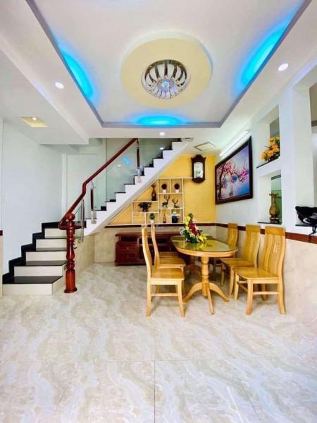Nhà nguyên căn cho thuê dt 5.5m x 16m tại Vĩnh Hội, Quận 4, 108m2, 3 phòng ngủ, 3 toilet