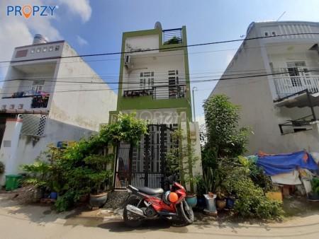 Cần cho thuê nhà nguyên căn Phú Hữu, Quận 9. Dtsd 102.8m2, 1 trệt 1 lầu, 7 triệu/tháng, 59.3m2, 2 phòng ngủ, 2 toilet