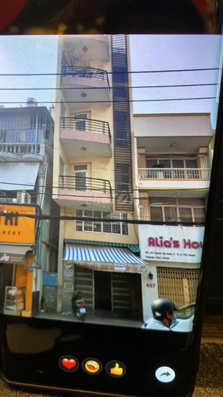 Cần cho thuê căn nhà 1 trệt 1 lững 4 lầu, 8pn tại Huỳnh Văn Bánh, Phú Nhuận, 42m2, 8 phòng ngủ, 5 toilet