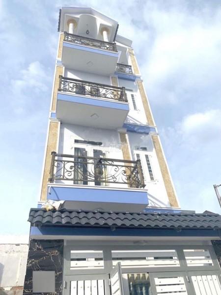 Cho thuê nhà nguyên căn 1 trệt 2 lầu sân thượng, dtsd 202m2, tại hxh Hương Lộ 2, Bình Tân, 62.8m2, 4 phòng ngủ, 4 toilet