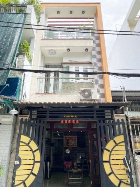 Cho thuê nhà nguyên căn tại Bình Tân Lê Văn Quới, 4m x 17m, 3PN, 4WC, 1T 2L, 68m2, 3 phòng ngủ, 4 toilet