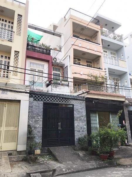 Nhà nguyên căn diện tích 4m x 17m2, 1 trệt 2 lầu tại Cư Xá Phú Lâm D, Quận 6, 72m2, 4 phòng ngủ, 3 toilet