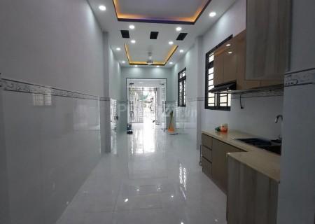 Nhà nguyên căn mới hẻm ô tô Lâm Văn Bền Quận 7. 17 triệu/tháng, 32m2, 3 phòng ngủ, 4 toilet