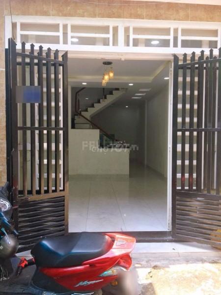 Cho thuê nhà nguyên căn hẻm ô tô đường Lê Liễu nhà mới đẹp, 1 trệt 1 lầu, 45.7m2, 2 phòng ngủ, 2 toilet