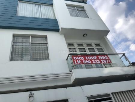 Cho thuê nhà nguyên căn chiều ngang 7.5m chiều dài 8m tại Lý Phục Man Quận 7, 56m2, 4 phòng ngủ, 4 toilet