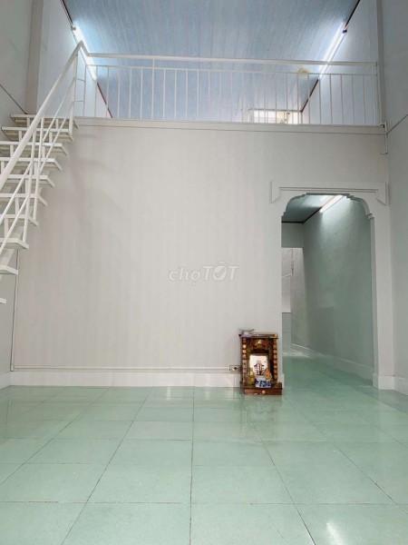 Nhà gác lửng đúc thật rộng 44m2, có máy lạnh hẻm 165 Tây Thạnh, Tân Phú cần cho thuê giá 6.5 triệu/tháng, 44m2, 1 phòng ngủ, 1 toilet