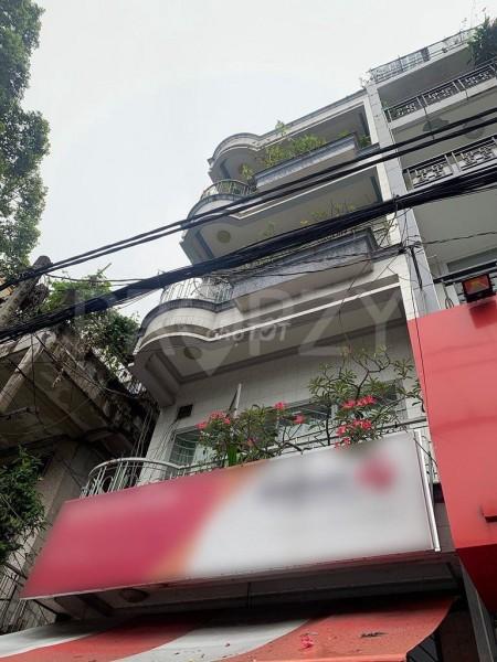 Cho thuê nhà mặt tiền có 8 phòng ngủ, 1 trệt và 4 lầu tại Ngô Quyền Quận 10, 77m2, 5 phòng ngủ, 5 toilet