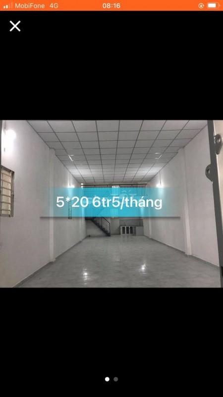 Cho thuê nhà nguyên căn 100m2 tại hẻm đường Lê Văn Khương, Phường Hiệp Thành, Quận 12, 100m2, 1 phòng ngủ, 1 toilet