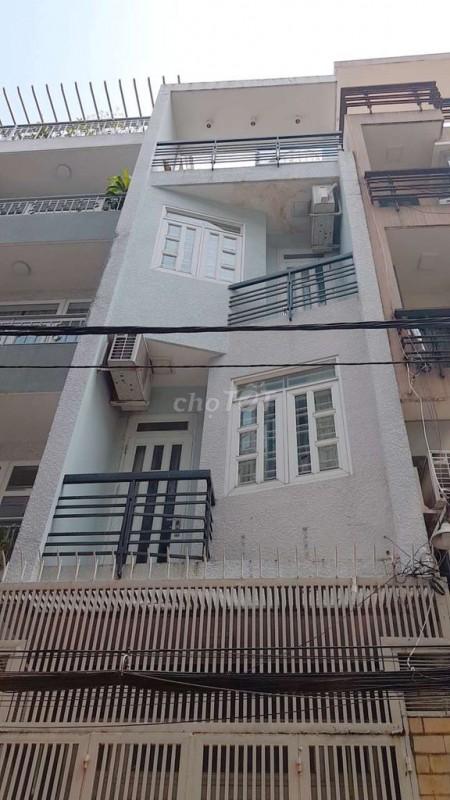 Nhà nguyên căn tại Thành Thái Quận 10 hẻm to ô tô qua lại thoải mái, thuận tiện qua lại các quận trung tâm., 40m2, 5 phòng ngủ, 3 toilet