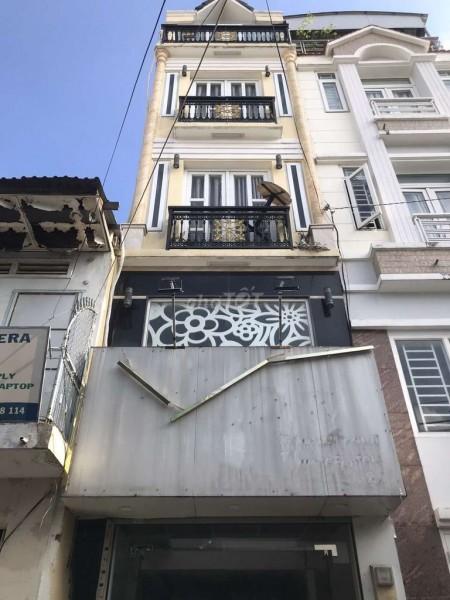 Nhà nguyên căn cần cho thuê 1 trệt 1 lững 2 lầu tại Trần Văn Đang, Quận 3, 44m2, 4 phòng ngủ, 3 toilet