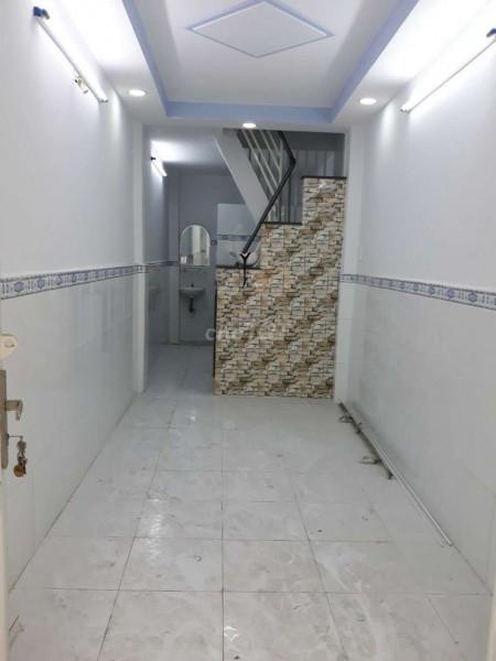 Nguyên căn đường Bình Tiên, Quận 6 cần cho thuê nhà rộng 16m2, 3 PN, giá 5.5 triệu/tháng, 16m2, 3 phòng ngủ, 2 toilet