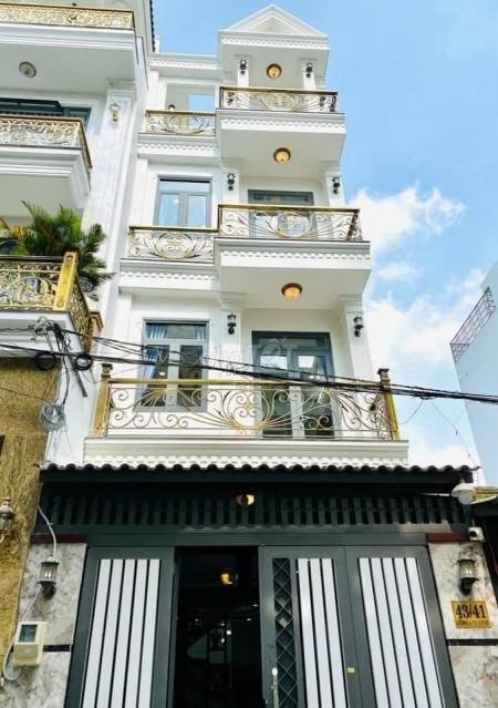 Cần cho thuê căn nhà tại Phan Huy Ích, Tân Bình. Nhà mới đẹp, Kiến trúc siêu sang, 84m2, 4 phòng ngủ, 5 toilet